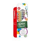 Набор цветных карандашей для правшей Stabilo EasyColor, 6 шт.