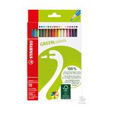 Набор карандашей Stabilo Greencolors, 18 шт.