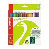 Набор карандашей Stabilo Greencolors, 24 шт.