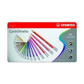 Пастель Stabilo Carbothello в металлическом футляре, 60 цветов
