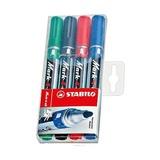 Набор маркеров перманентных, 1,5-2,5 мм, 4 шт.