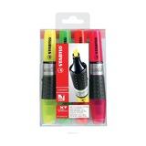 Набор текстовыделителей Stabilo Luminator, 2-5 мм, 4 шт.