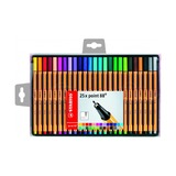 Ручка капиллярная Stabilo Point 88, 25 цветов