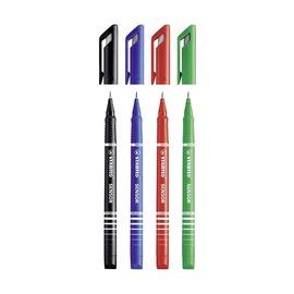Набор капиллярных ручек Stabilo Sensor, 0.3 мм, 4 цвета