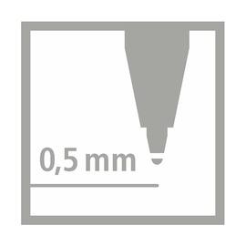 Ручка-роллер Stabilo Easyoriginal Marbled для правшей, синие чернила