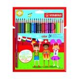 Набор цветных карандашей, 20 цветов
