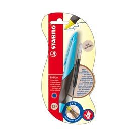 Ручка-роллер Stabilo Easyoriginal Metallic для левшей, синие чернила