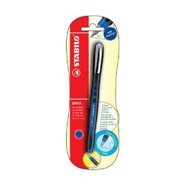 Ручка-роллер Stabilo Black, синие чернила