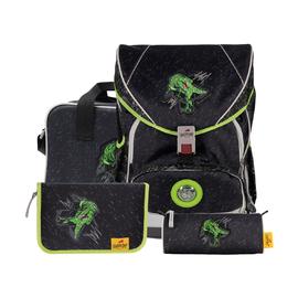 Ранец Ergoflex XL Зеленый динозавр