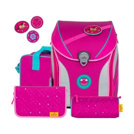 Ранец Ergoflex Max Buttons Розовый стиль